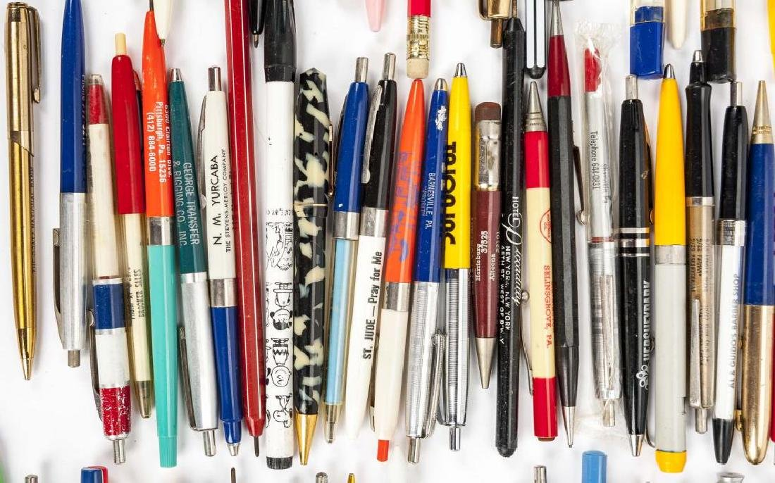 126 Circa 1940s - 1960s Advertising Pens & Pencils - 6