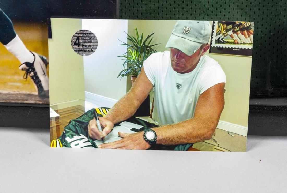 Autographed Brett Farve Football Jersey - 2