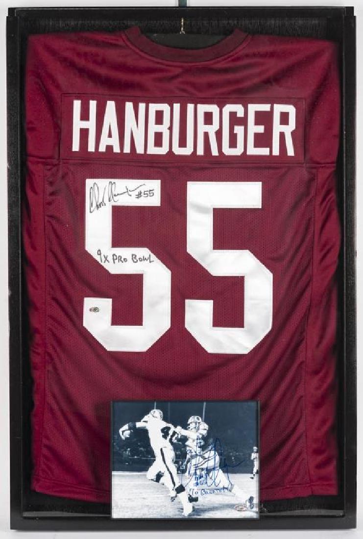 Autographed Chris Hanburger Football Jersey
