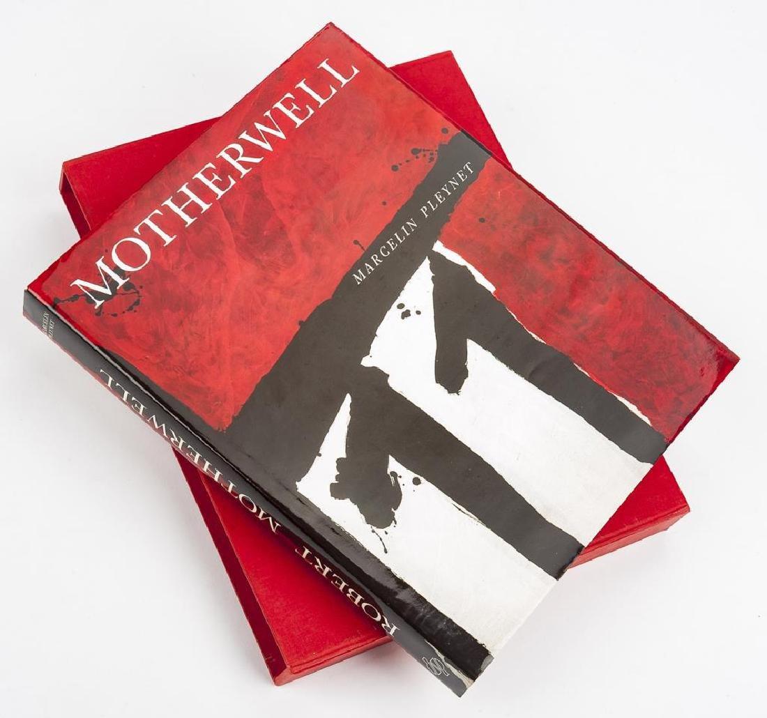 Robert Motherwell by Marcelin Pleynet w/ Litho