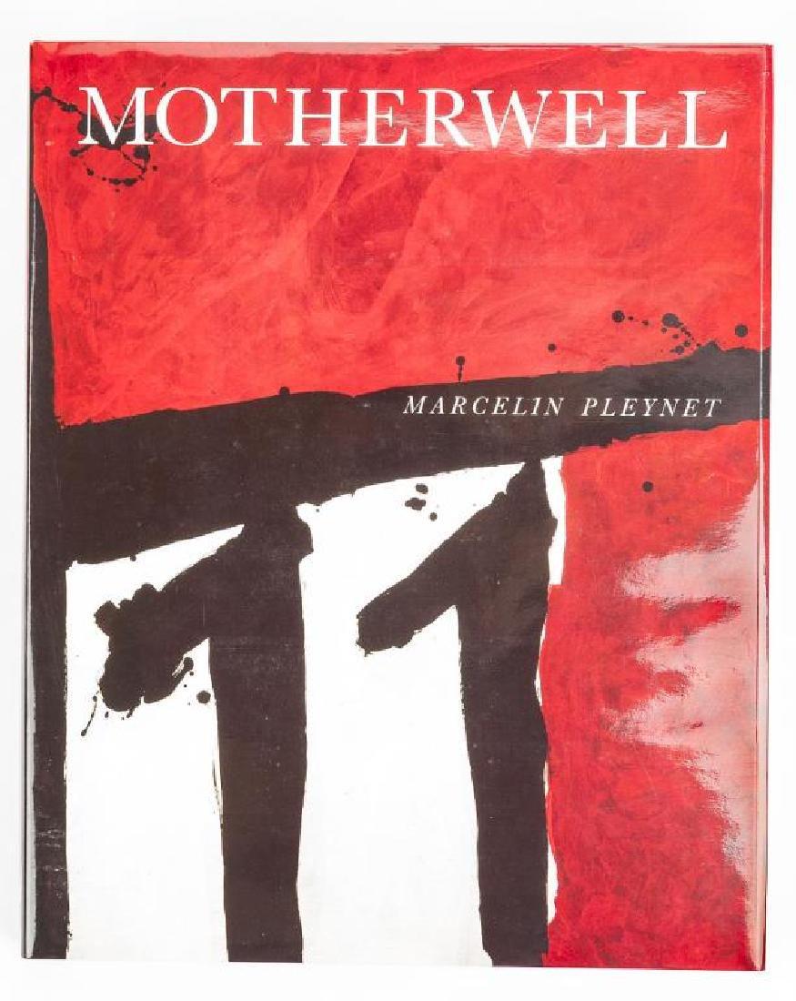 Robert Motherwell by Marcelin Pleynet w/ Litho - 2