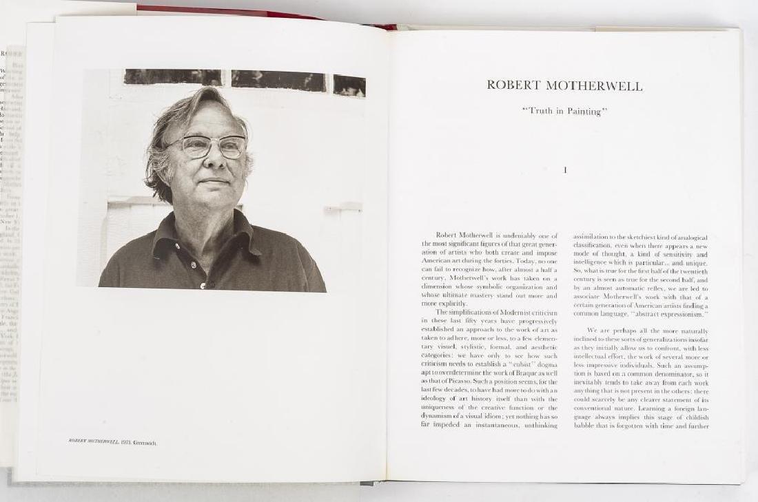Robert Motherwell by Marcelin Pleynet w/ Litho - 3