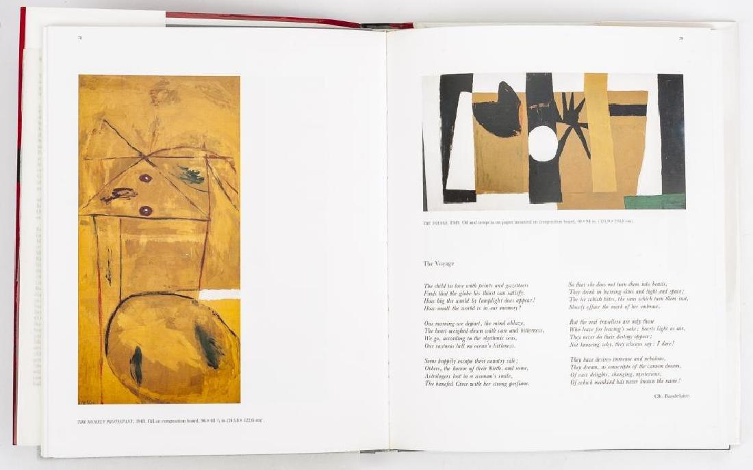 Robert Motherwell by Marcelin Pleynet w/ Litho - 4