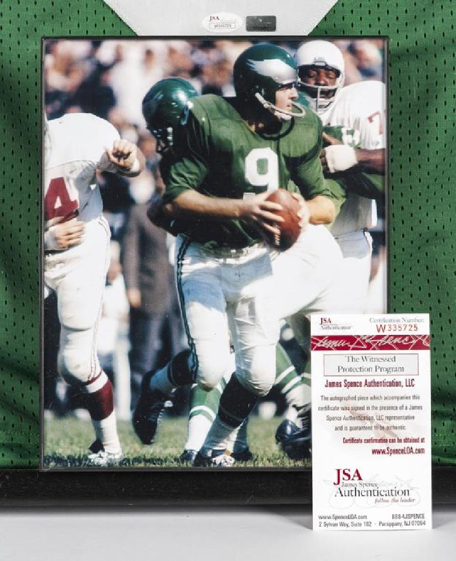 Autographed Sonny Jurgensen Football Jersey - 2