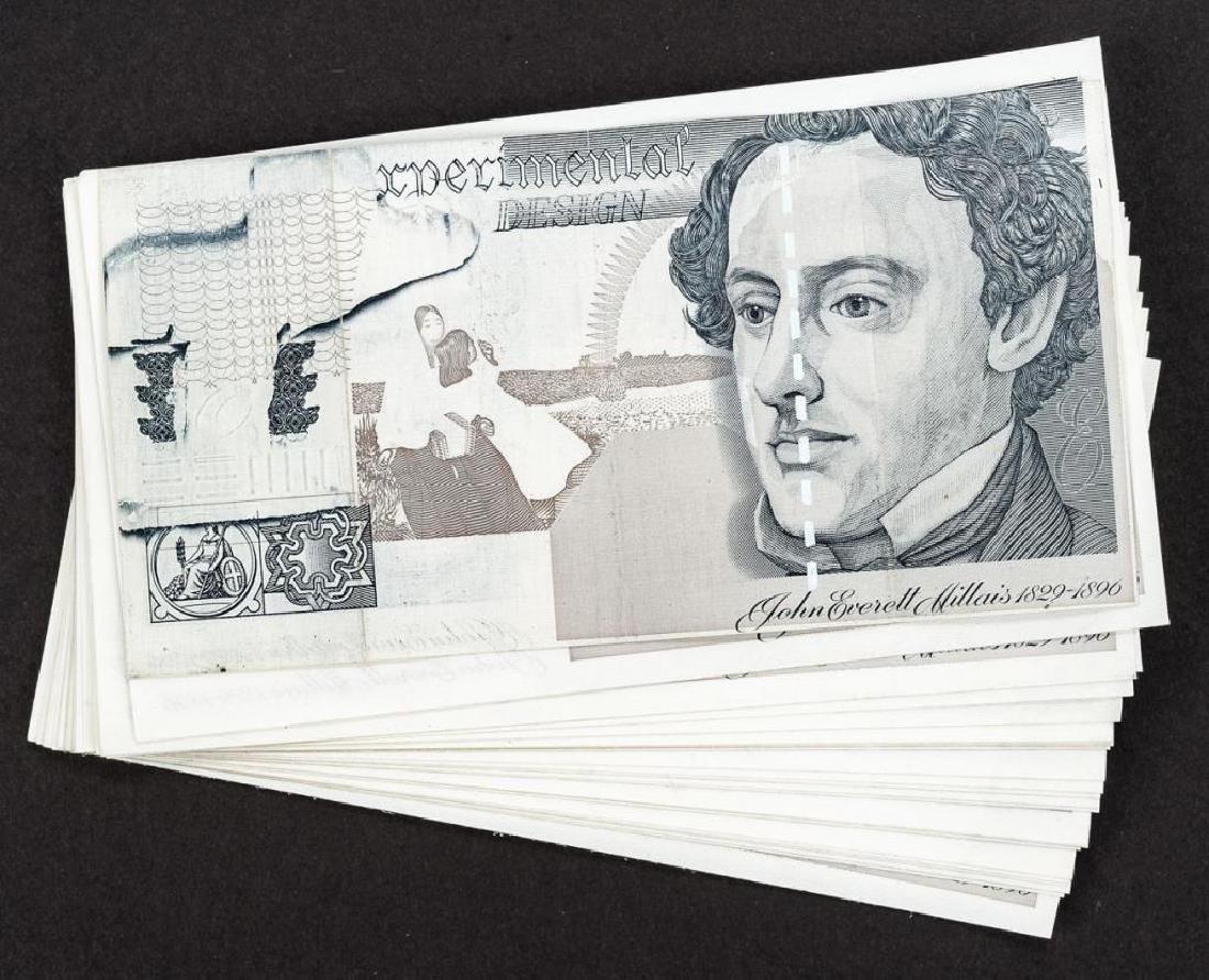 29 Experimental Design Banknote Specimens