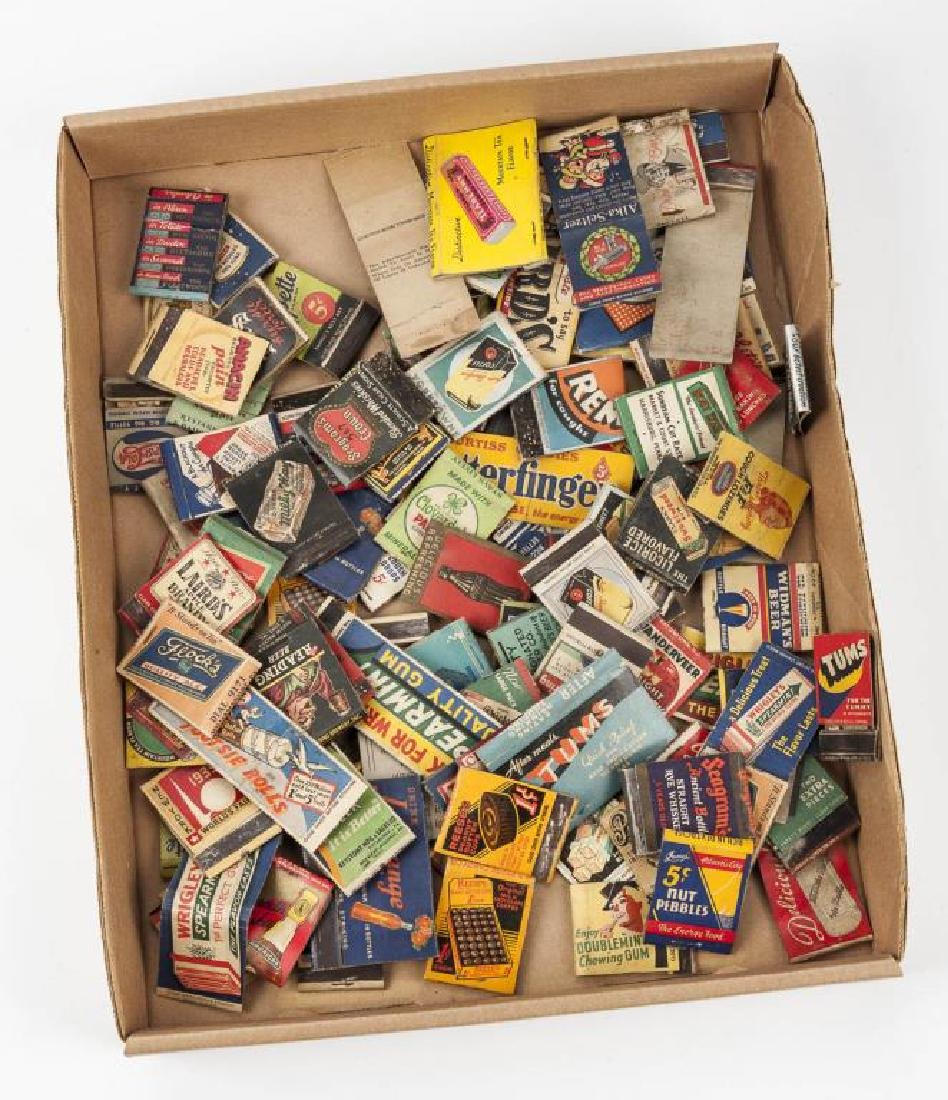 102 Matchbooks incl Food, Liquor, Beer & Medicine - 2