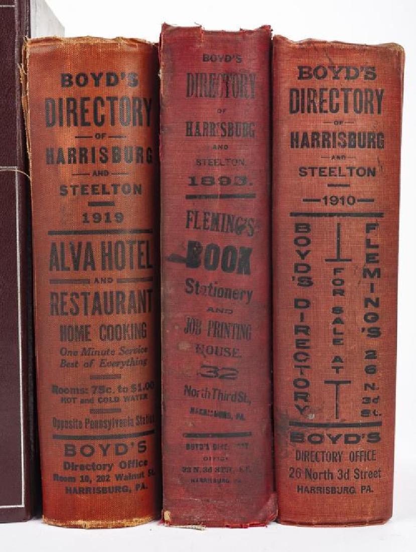 9 Directories of Harrisburg & West Shore Incl Polk - 2