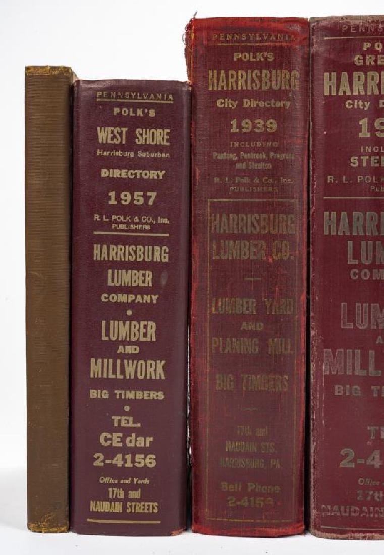 9 Directories of Harrisburg & West Shore Incl Polk - 4
