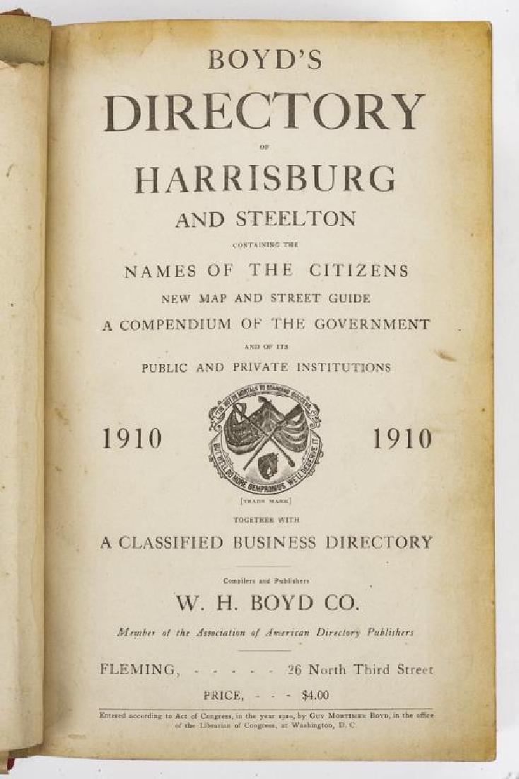 9 Directories of Harrisburg & West Shore Incl Polk - 7