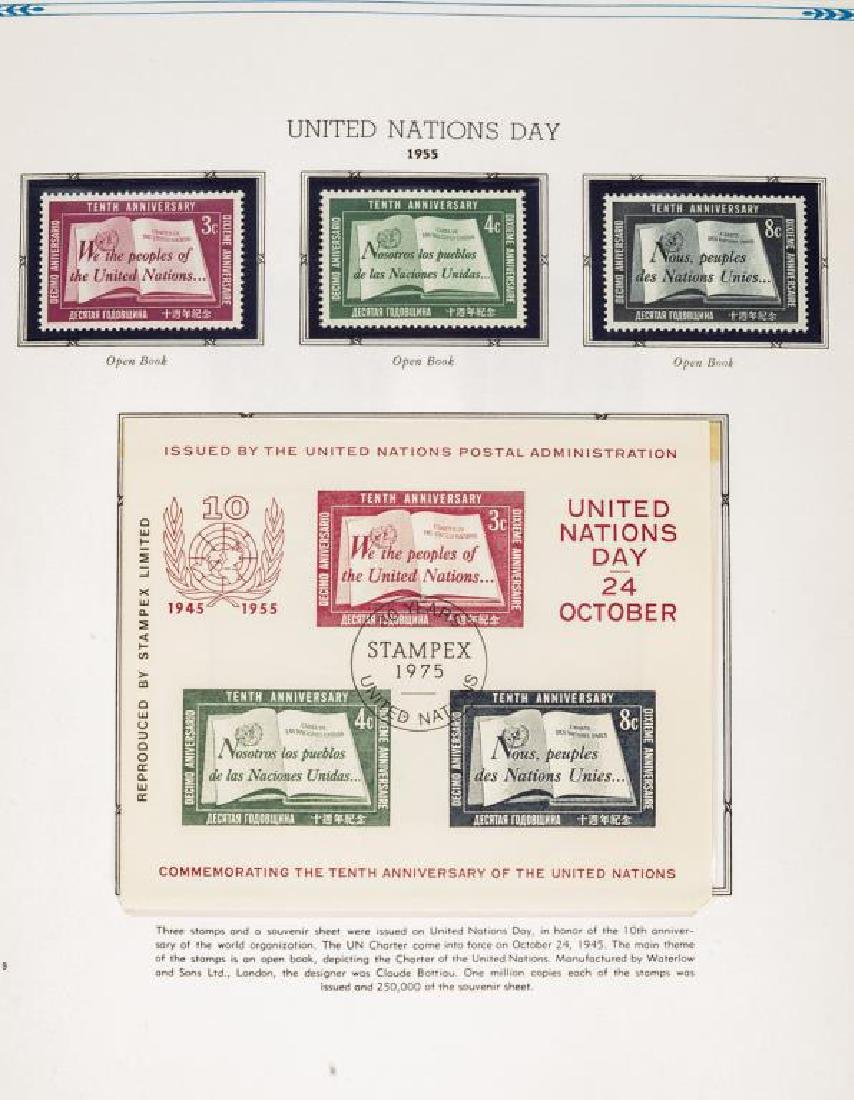 Large United Nations Stamp Collection - 8