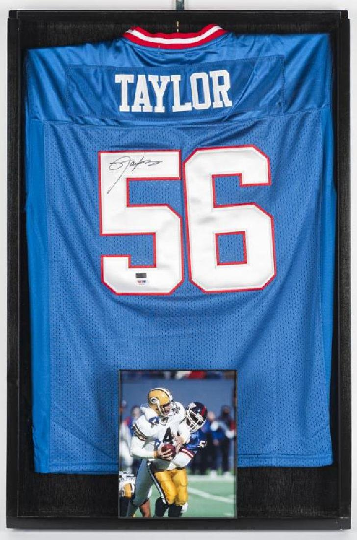 Autographed Lawrence Taylor Football Jersey