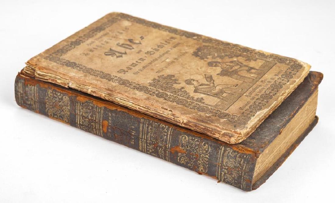 2 19th C. German Books Harrisburg Printings