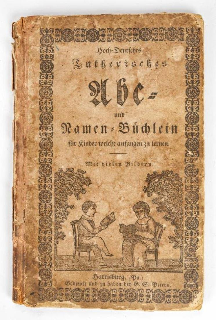 2 19th C. German Books Harrisburg Printings - 3