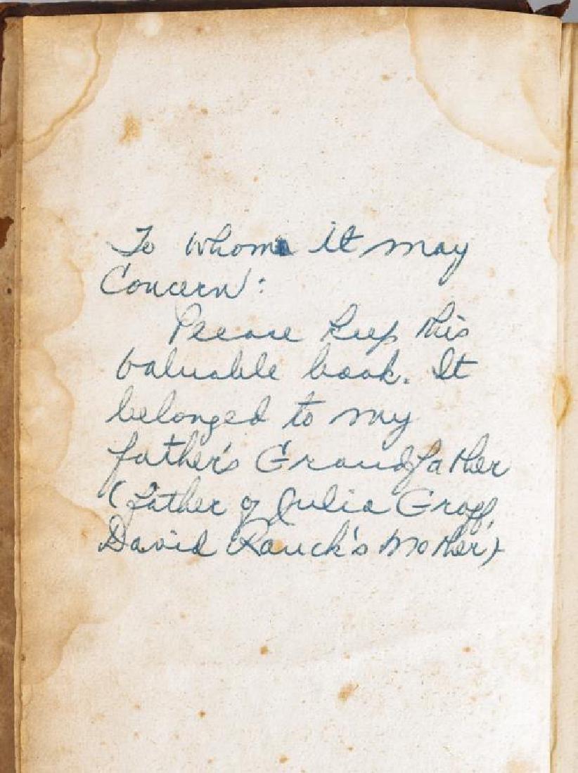 2 19th C. German Books Harrisburg Printings - 6