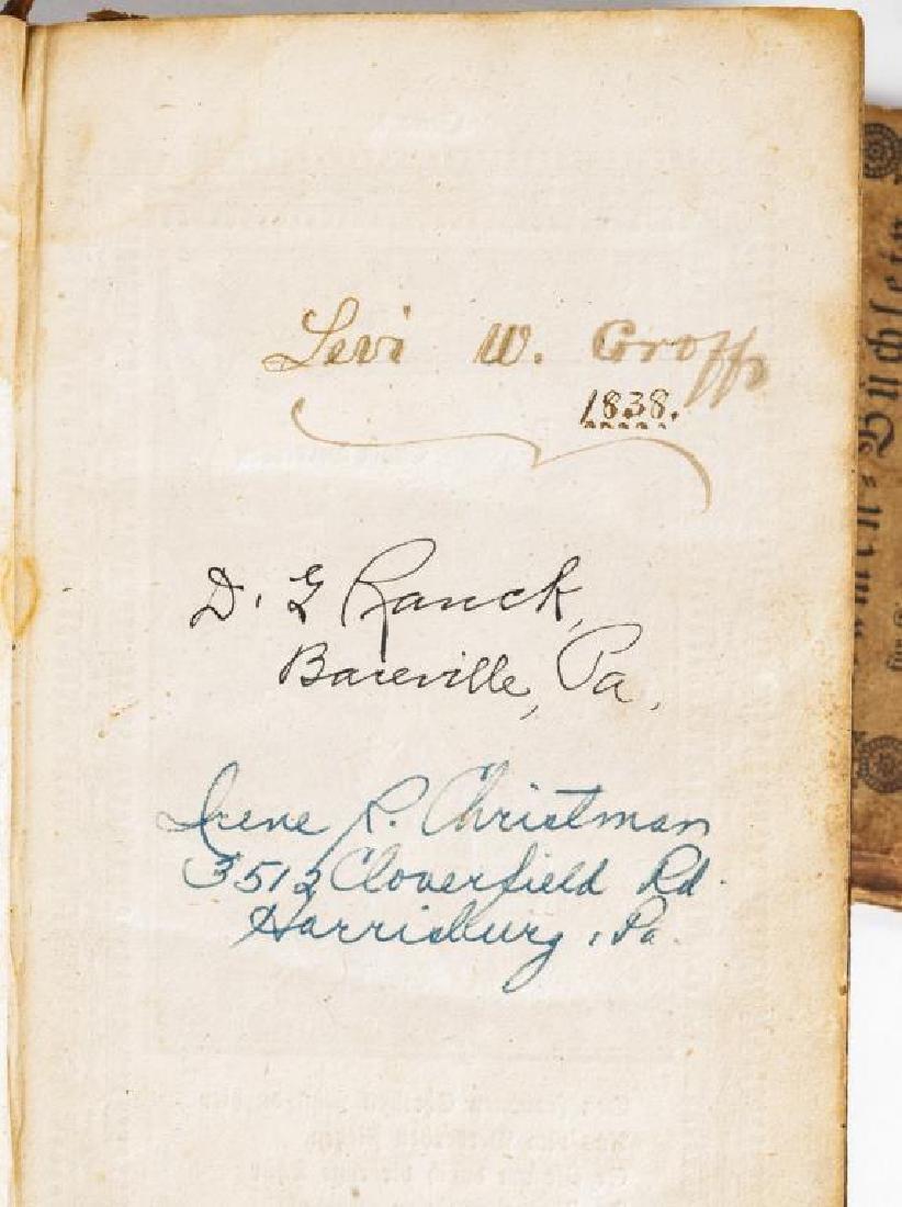 2 19th C. German Books Harrisburg Printings - 7