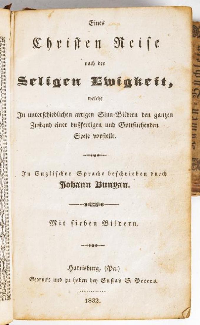 2 19th C. German Books Harrisburg Printings - 8