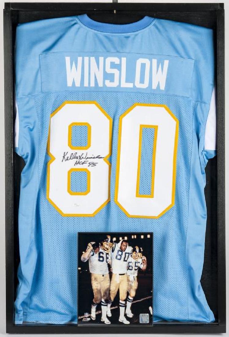 Autographed Kellen Winslow Football Jersey