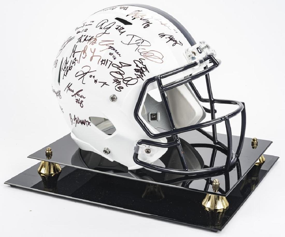 2016 Penn State Autographed Helmet