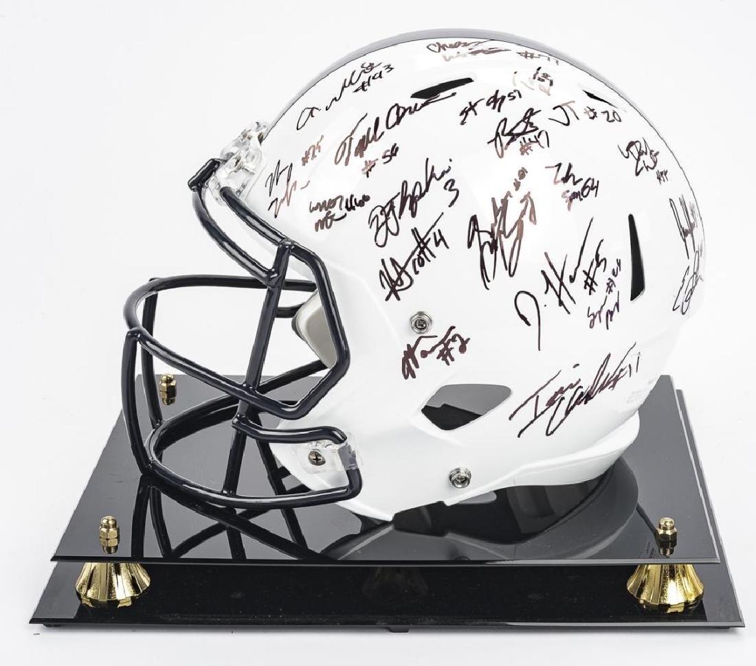 2016 Penn State Autographed Helmet - 4