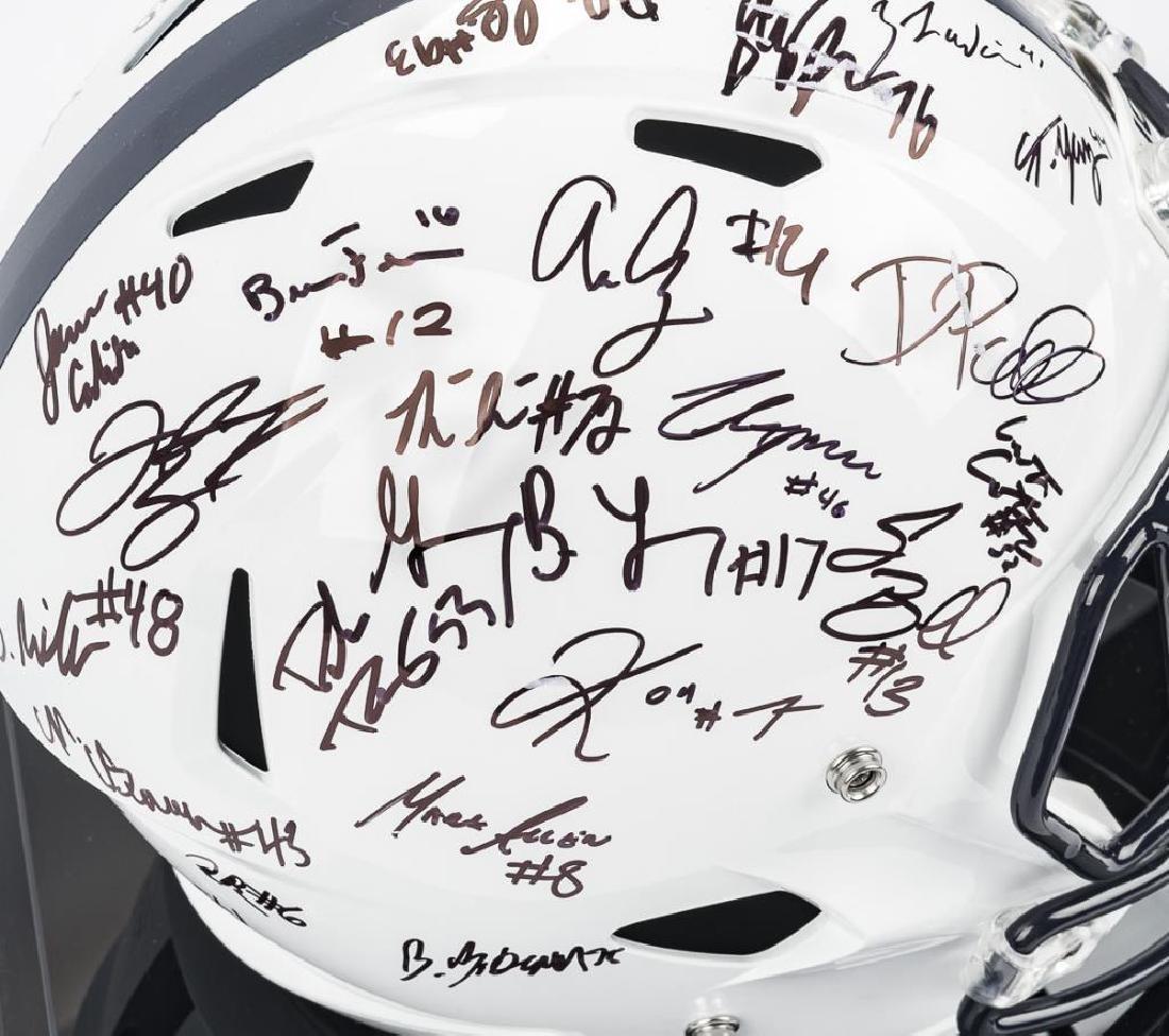 2016 Penn State Autographed Helmet - 5