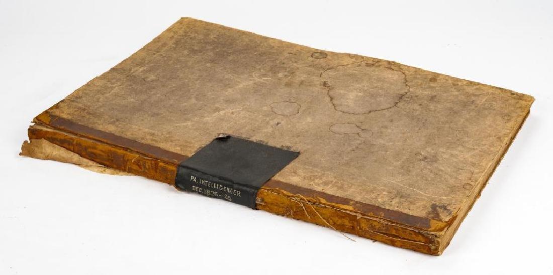 1825 - 1826 Pennsylvania Intelligencer
