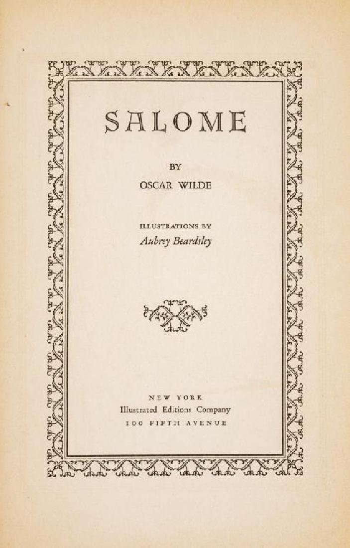 Salome by Wilde Illustrated by Aubrey Beardsley - 4