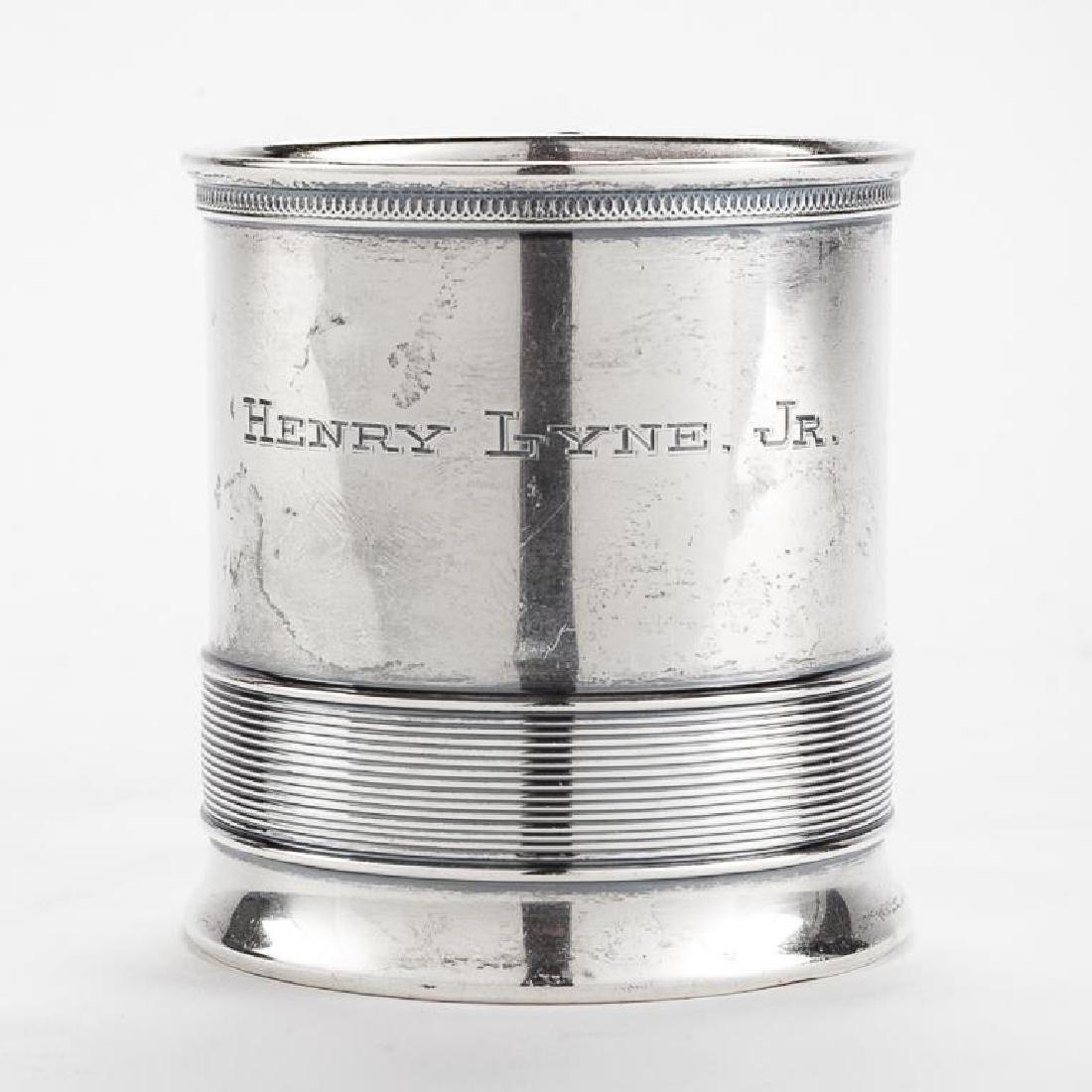Henry Lyne Jr. Sterling Christening Cup - 3