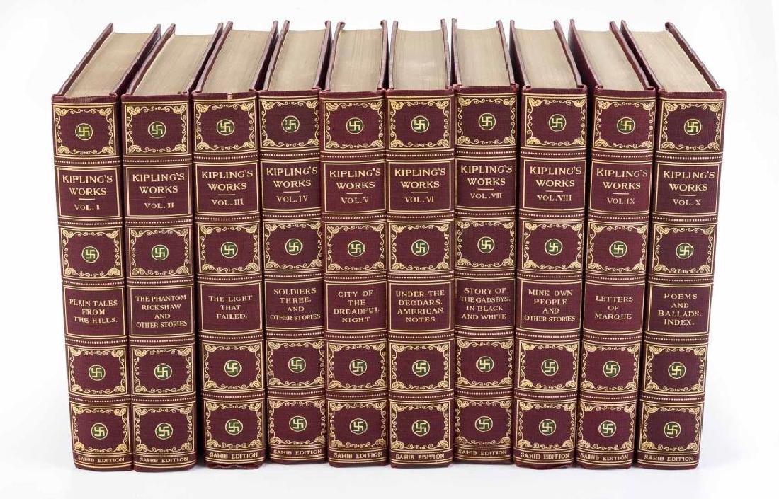 10 Vols. Rudyard Kipling's Works
