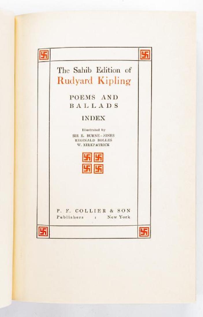 10 Vols. Rudyard Kipling's Works - 3