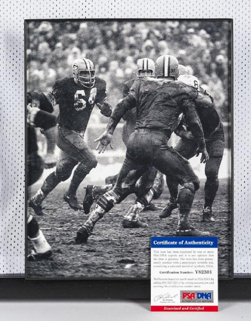 Autographed Jerry Kramer Football Jersey - 2