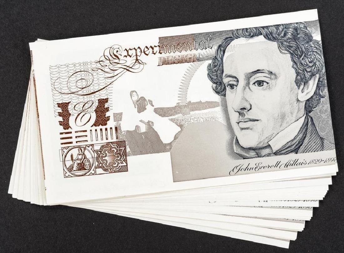 26 Experimental Design Banknote Specimens