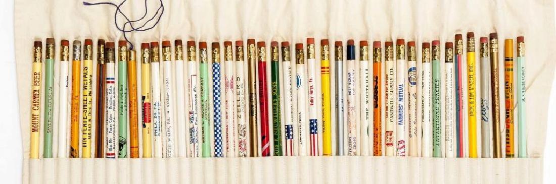 260 Circa 1940s - 1950s Advertising Pencils