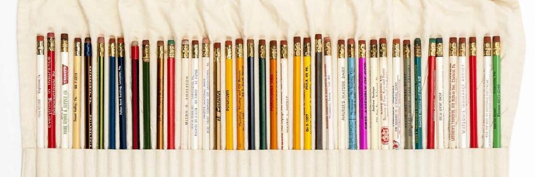 260 Circa 1940s - 1950s Advertising Pencils - 2