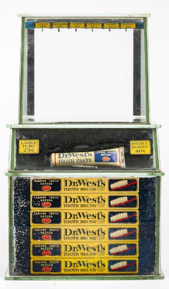 Dr. West Toothpaste General Store Display
