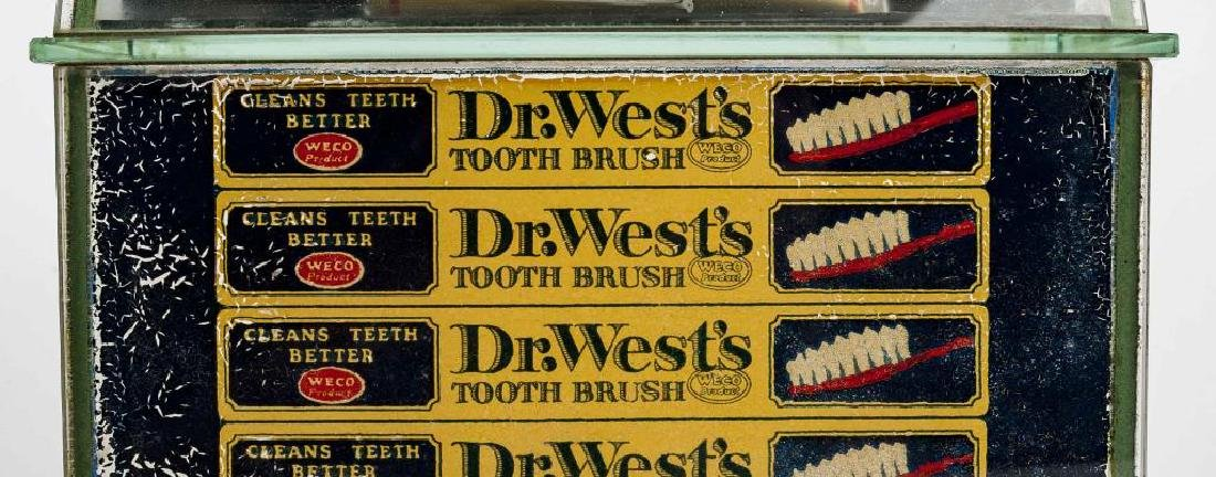 Dr. West Toothpaste General Store Display - 6
