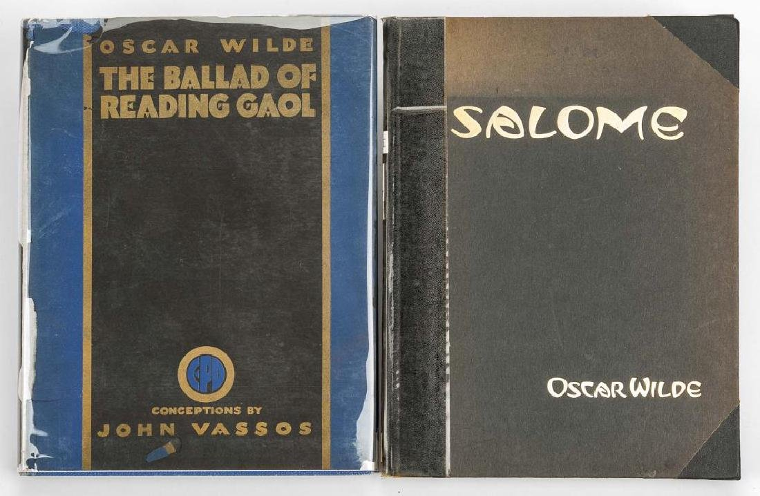 2 Oscar Wilde Books incl signed by John Vassos