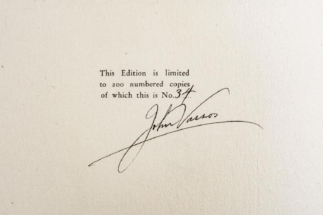 2 Oscar Wilde Books incl signed by John Vassos - 9