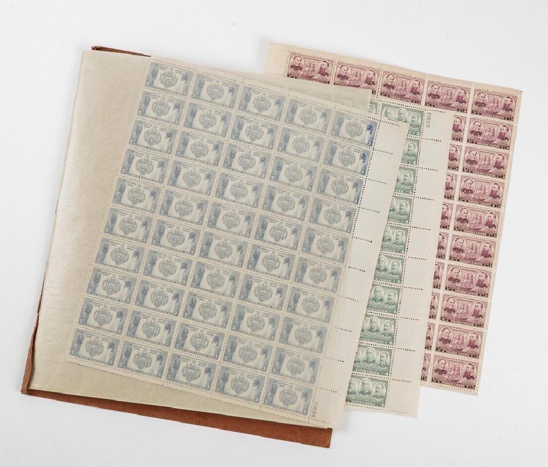 Mint Postage Sheets & Blocks - 2
