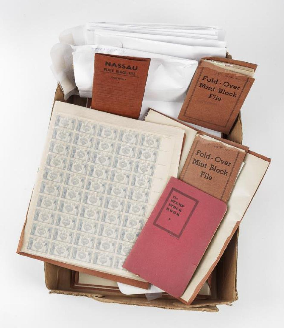 Mint Postage Sheets & Blocks - 3