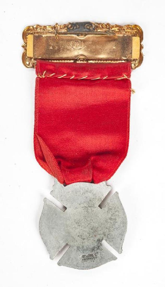1930 Fireman's Association Convention Badge - 2
