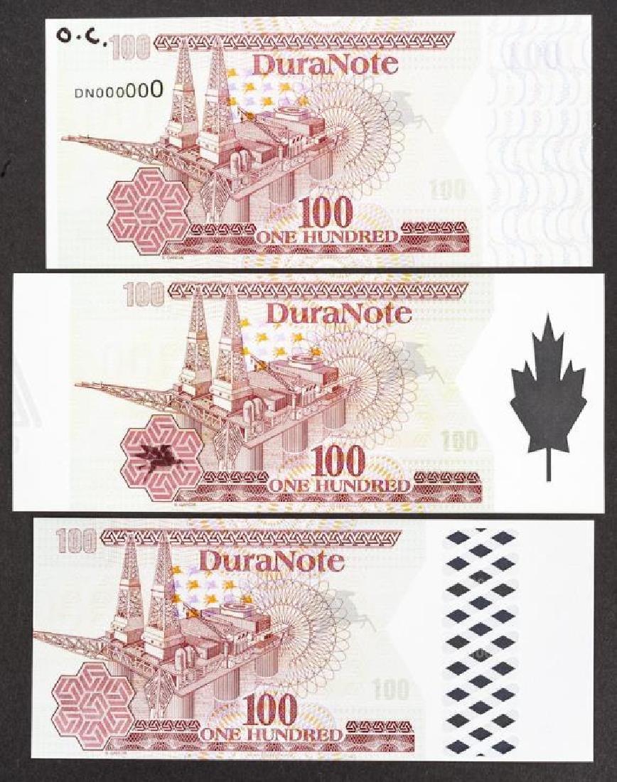 34 Duranote 100 Units Banknote Specimens - 2