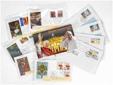 Large Collection of Vatican City Stamps