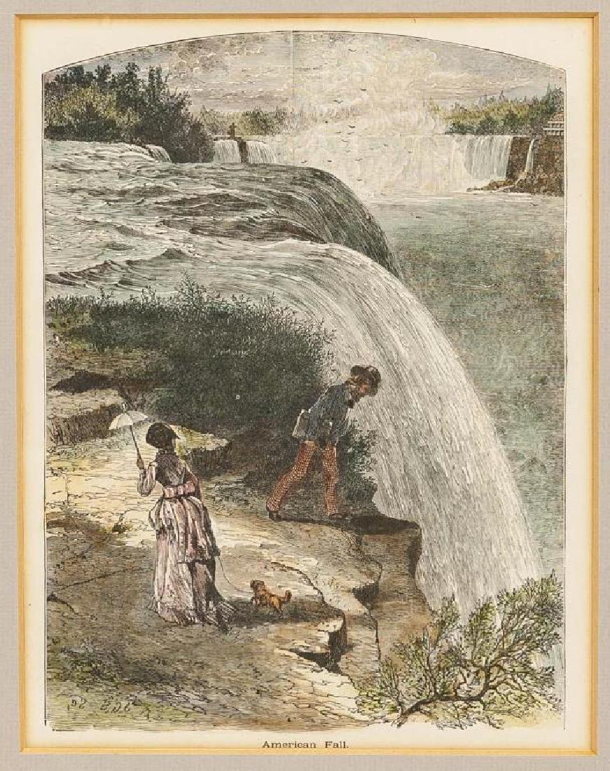 3 Niagara Area Colored Prints Incl E. Guerin - 3