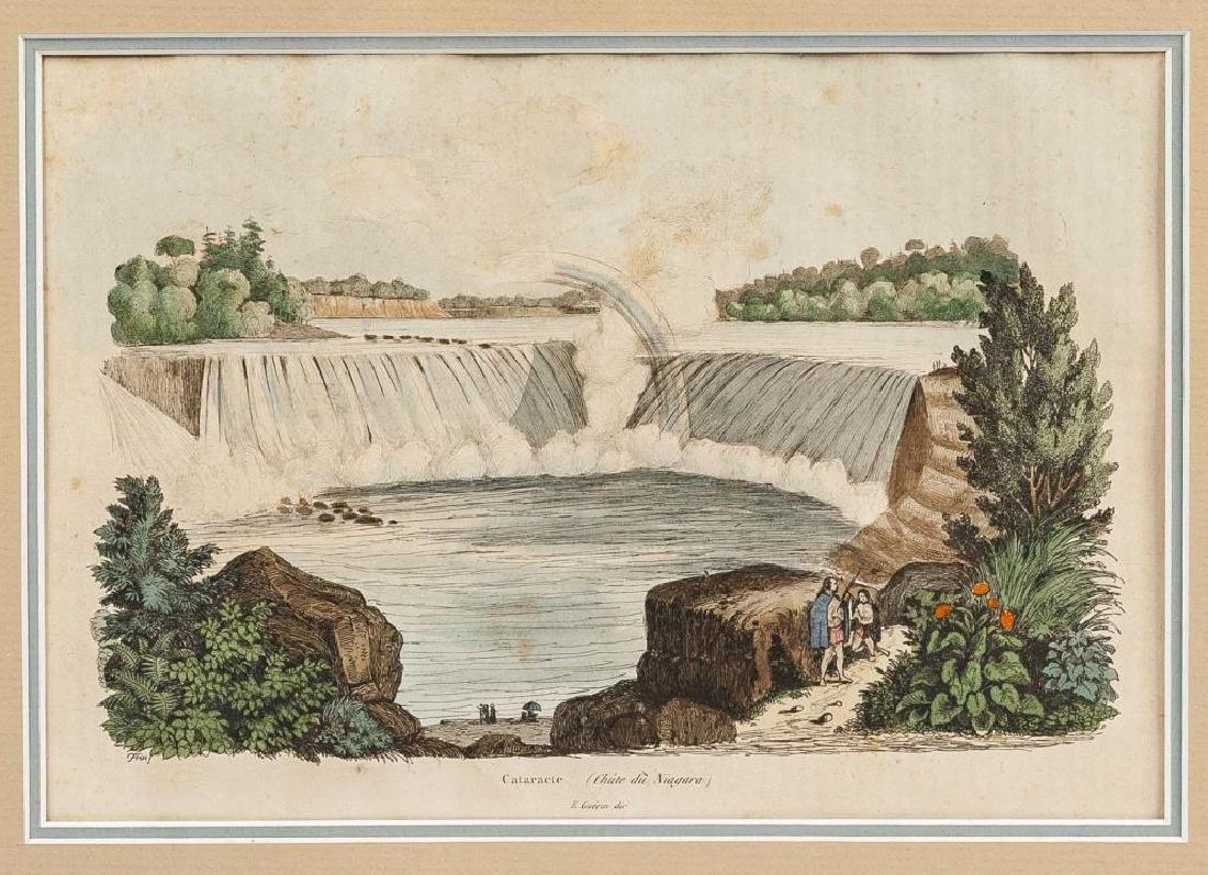 3 Niagara Area Colored Prints Incl E. Guerin - 5