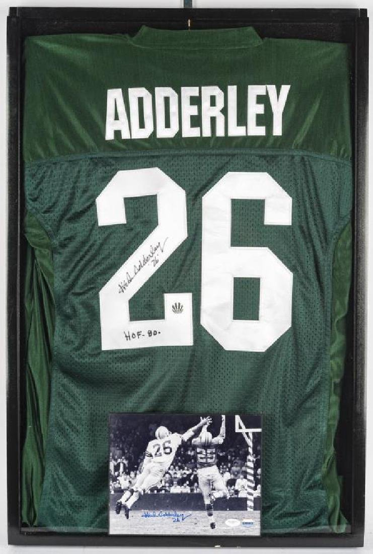 Autographed Herb Adderley Football Jersey