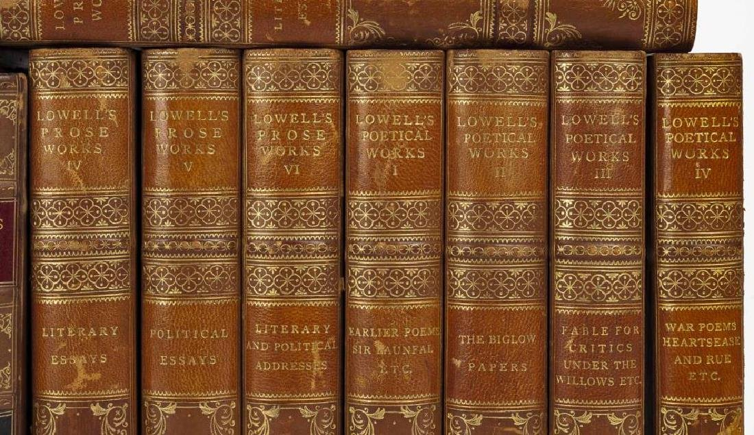 3 Sets of Books Incl Ruskin, Lowell & Butler - 2