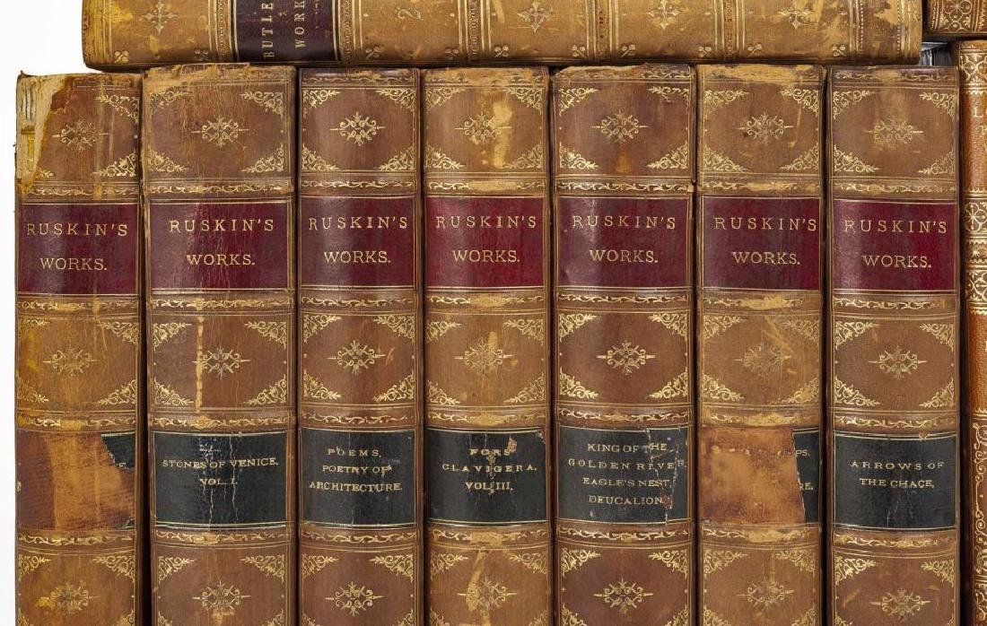 3 Sets of Books Incl Ruskin, Lowell & Butler - 3