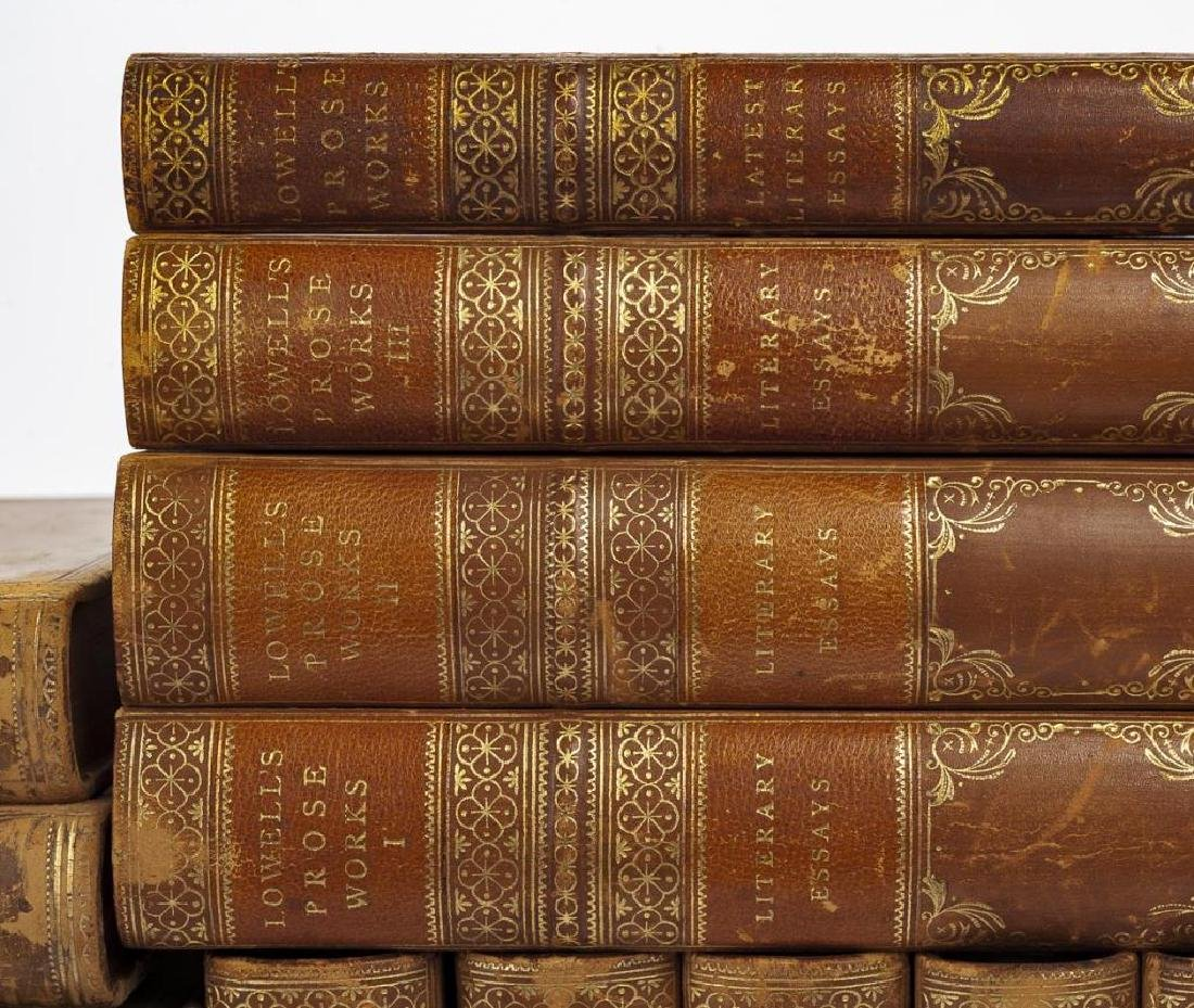 3 Sets of Books Incl Ruskin, Lowell & Butler - 4