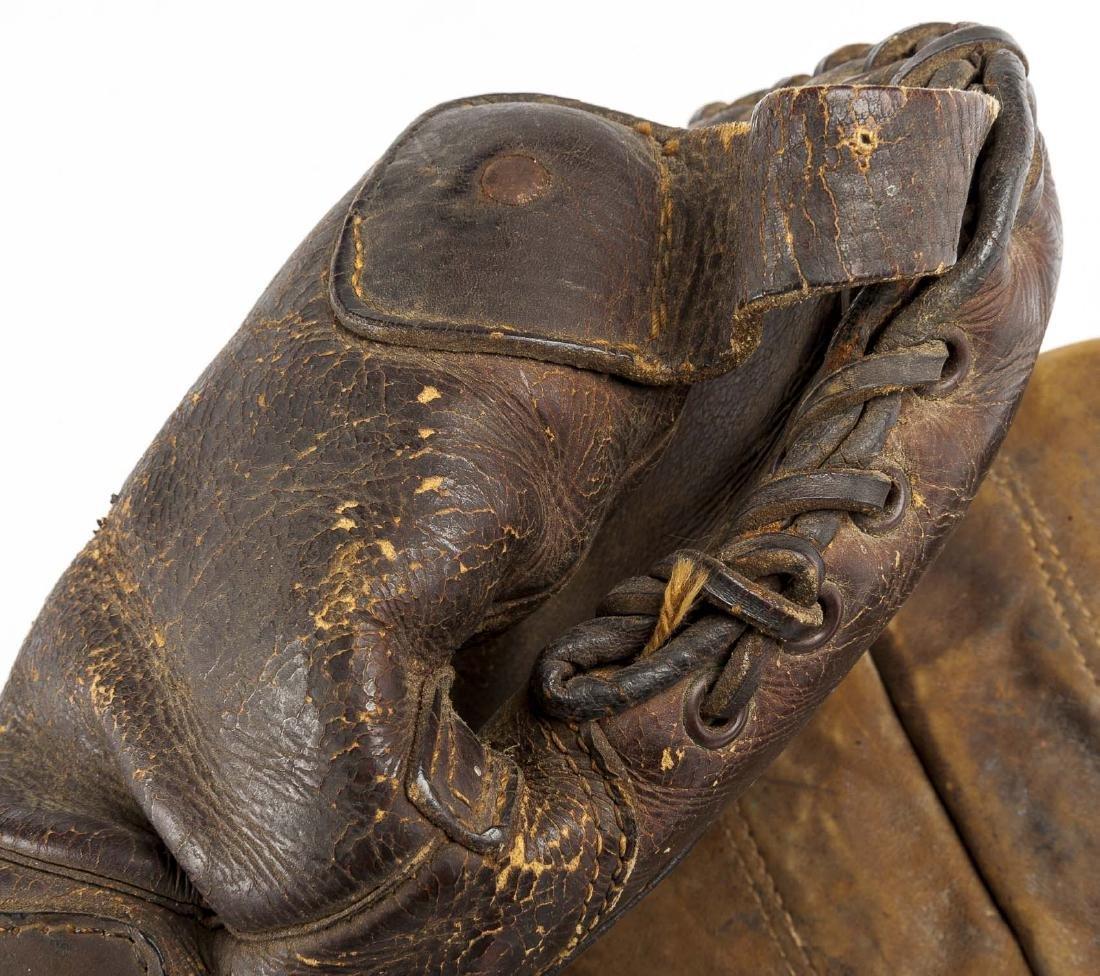 4 1920's 1st Baseman Gloves Incl Spalding - 3