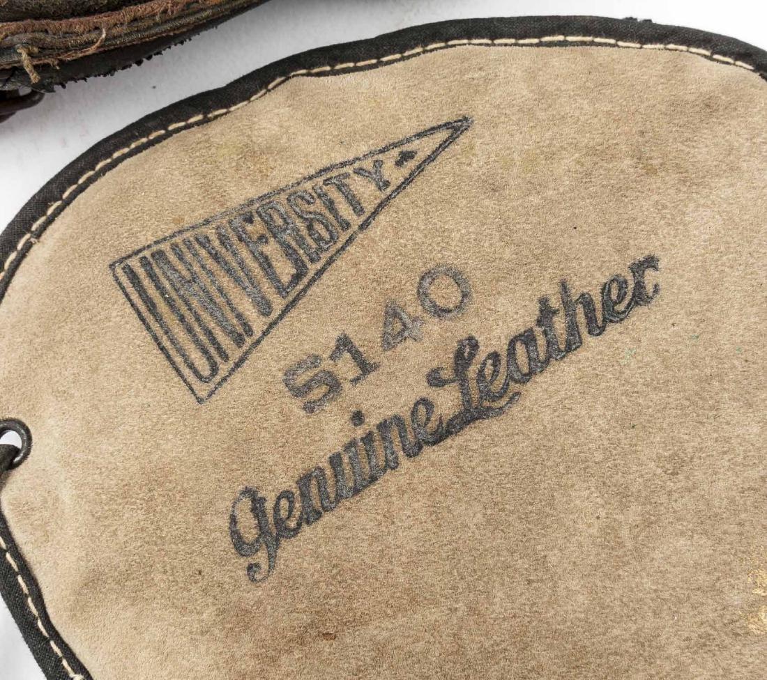 4 1920's 1st Baseman Gloves Incl Spalding - 4